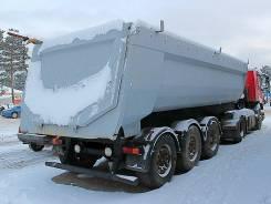 Schwarzmuller. Самосвальный полуприцеп NEP Eurotrailer SKS 27-7.5 2005 года, 35 000 кг.