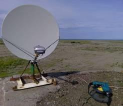 Спутниковый интернет. Комплект оборудования + монтаж 22000 рублей