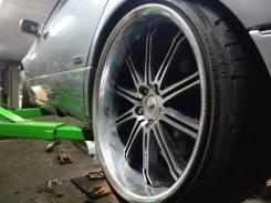 Бомбические полочки от Work Schwert R19 колеса с резиной. 9.5x19 5x114.30 ET11