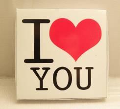 Шоколадный набор I Love you. Подарок на 14 февраля.