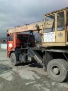 Углич КС-3577-3К. Продаётся автокран Угличмаш на базе КаМАЗа, 6 700 куб. см., 16 000 кг., 14 м.