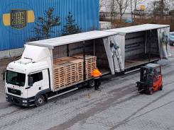 MAN TGL. Автопоезд 120 кубов, МАН ТГЛ 8.220, 2012г, без пробега по РФ, 4 580куб. см., 10 000кг. Под заказ