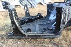 Порог правый металлический кузова Toyota Harrier MCU36