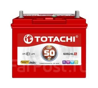 Totachi. 50 А.ч., Обратная (левое), производство Корея. Под заказ