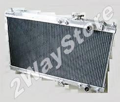 Радиатор охлаждения двигателя. Honda Integra, DB8, DC2, DB7 B18C, B18B, B18B1, B18B3, B18C3
