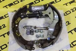 Механизм стояночного тормоза. Toyota RAV4, ACA20, ACA20W, ACA21, ACA21W, ACA23, ACA26, ACA28, CLA20, CLA21, SXA10, SXA10C, SXA10G, SXA10W, SXA11, SXA1...