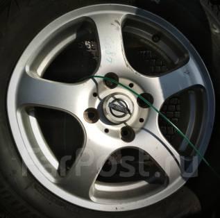 Nissan. 6.0x15, 4x114.30, ET45
