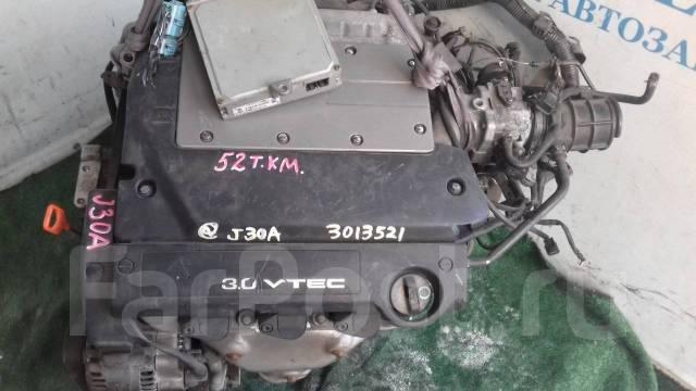 Двигатель в сборе. Honda Inspire, UC1 Двигатель J30A
