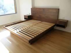 Кровати из массива, столярные работы и мебель от ДревоЛад!. Под заказ
