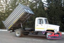 ГАЗ 3309. ГАЗ-3309 бортовой самосвал 3Х Сторонний, 4 430куб. см., 4 100кг.