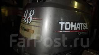 Tohatsu. 9,80л.с., 4-тактный, бензиновый, нога L (508 мм), Год: 2003 год