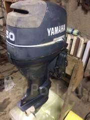 Yamaha. 50,00л.с., 4-тактный, бензиновый, нога L (508 мм), Год: 2001 год