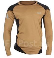 Термо-футболка 5.11 длинный рукав коричневая