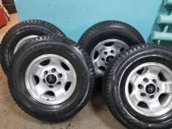 Срочно! шины+диски 0 вылет 265/70/16 LC80/Surf/Prado/Pajero/Patrol/Surf. 8.0x16 6x139.70 ET0 ЦО 110,0мм.