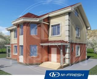 M-fresh Success plus (Просторный дом с эркером). 200-300 кв. м., 2 этажа, 6 комнат, бетон