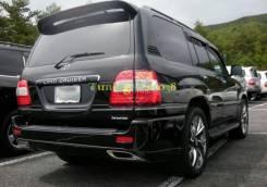 Бампер задний Toyota Land Cruiser J100 1998-2007