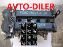 Двигатель Ford Focus 1.6 iqdb FWD MT. (105лс)