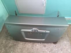 Крышка багажника. Toyota Corolla, CDE120, CE120, NDE120, NZE120, ZRE120, ZZE120, ZZE120L, NZE124, NZE121 Двигатели: 1CDFTV, 1NDTV, 1NZFE, 1ZRFE, 2C, 2...