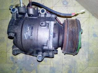 Компрессор кондиционера. Honda Stream, RN1 Двигатели: D17A, D17AVTEC, D17A2