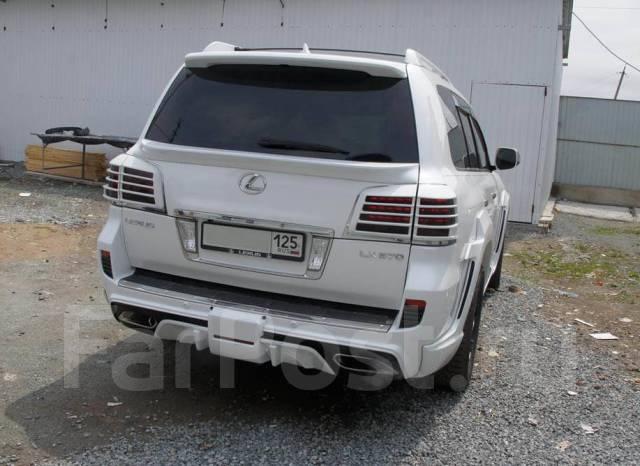 Обвес кузова аэродинамический. Lexus LX570, URJ201, URJ201W Двигатель 3URFE. Под заказ