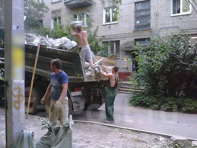 Самосвалы ! Вывоз мусора ! Бригада рабочих+грузчиков ! Демонтаж !