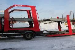 Lohr. Полуприцеп автовоз LOHR Eurolohr 1.21, 12 000 кг.