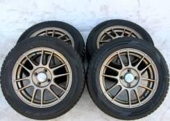 Колёса с шинами Enkei R15! темная Бронза! (№ 67467). 5.0x15 4x100.00 ET42