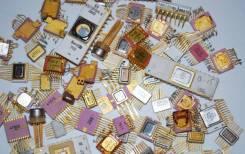 Куплю Платы, радиодетали, катализаторы, серебро