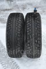 Michelin Ivalo I2. Зимние, шипованные, износ: 30%, 3 шт