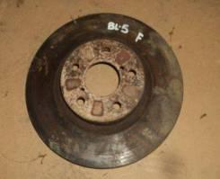 Диск тормозной SB Legacy BL5/BP5/Forester SG5 FR 07- левый руль, шт, передний
