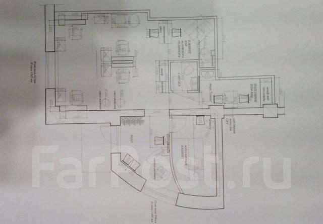 Н/помещение на Эгершельде 54 кв. Улица Леонова 66 стр. 2, р-н Эгершельд, 54кв.м. План помещения