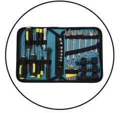 Подарок мужчине набор инструментов из 57 предметов Packard Spence