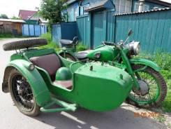 Урал М-72. 400 куб. см., неисправен, птс, с пробегом