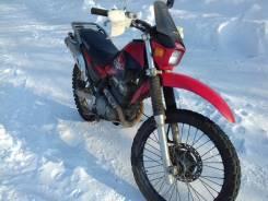 Kawasaki Super Sherpa. 250 куб. см., исправен, птс, с пробегом