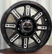 Продам новое, стильное литье на 18 черное с отв.5на150 и 6на139.7. 9.0x18, 5x150.00, ET25