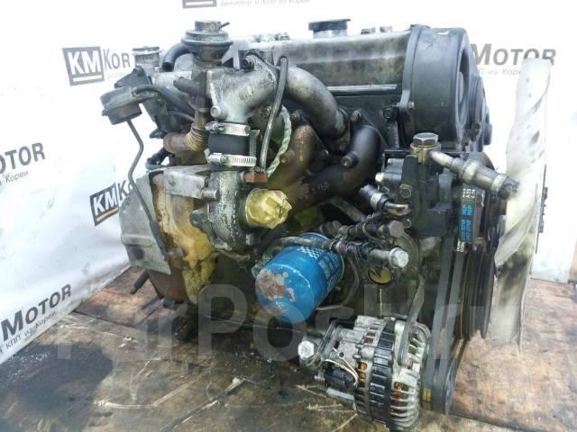 Двигатель в сборе. Hyundai H100 Hyundai Porter Двигатель D4BF