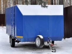 Vector. Прицеп для двух снегоходов Вектор Лав 81012D, 750 кг.