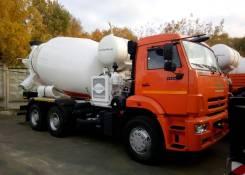 Камаз 6520. Автобетоносмеситель 69366V шасси Камаз-6520 9м3 400л/с, 1 000 куб. см., 9,00куб. м.