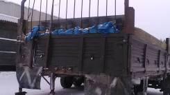Кзап 9370. Прицеп бортовой КЗАП9370, 20 000 кг.