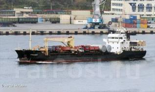 Доставка грузов морем на Курильские острова (Кунашир, Итуруп) 20л опыта
