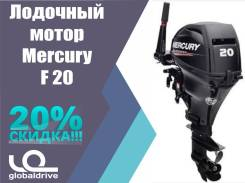 Mercury. 20,00л.с., 4-тактный, бензиновый, нога S (381 мм), Год: 2017 год