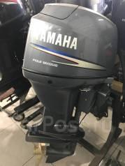 Yamaha. 50,00л.с., 4-тактный, бензиновый, нога L (508 мм), Год: 2009 год