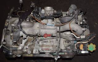 Двигатель в сборе. Subaru: Impreza WRX, Forester, Legacy Lancaster, Legacy, Impreza, Impreza WRX STI, Outback, Exiga, Legacy B4 Двигатели: EJ25, EJ254