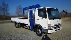 Mitsubishi Fuso Fighter. Продам бортовой грузовик с манипулятором на эвакуаторных лапах, 8 200куб. см., 5 000кг., 4x2