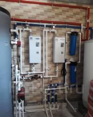 Монтаж инженерных систем отопления, водоснабжения, канализации.