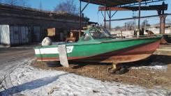 Амур. Год: 1991 год, длина 5,80м., двигатель подвесной, 30,00л.с., бензин