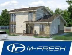 M-fresh Capital (Капитальный фундамент, надежный большой дом! ). 200-300 кв. м., 2 этажа, 5 комнат, бетон
