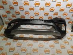 Бампер передний Honda CR-V 2015-2018 оригинал, трещина