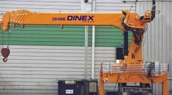 Dimex. Крановая установка Dinex Crane DH86, 7 300 кг., 22 м.