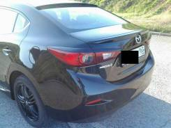 Спойлер на заднее стекло. Mazda Mazda3, BM Mazda Axela, BM2AP, BM2AS, BM2FP, BM2FS, BM5AP, BM5AS, BM5FP, BM5FS, BMEFS, BMLFP, BMLFS